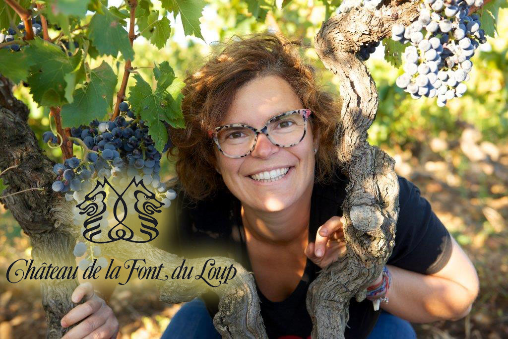A dinner with Chateau de la Font du Loup