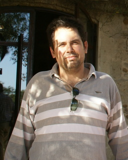 Winemaker Luc Baudet