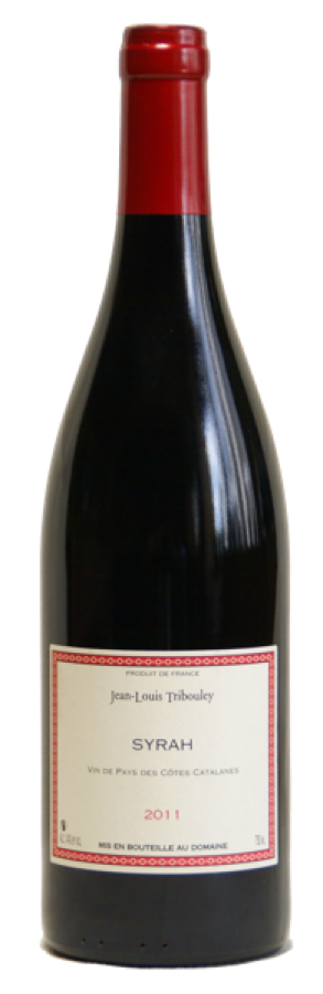 Tribouley VDP cotes catalanes Syrah
